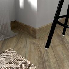 Плинтус Fine Floor Дуб Карлин коллекция Wood FF-1507-1407
